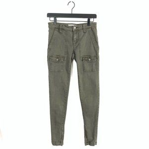 JOIE Mid Rise Ankle Zip So-Real Skinny Jeans